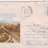 D-727 Intreg Postal Bucuresti Cartierul Ghica Tei