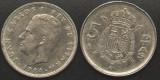 Spania 5 PESETAS 1984 regele Juan Carlos