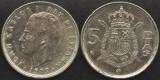 Spania 5 PESETAS 1989 regele Juan Carlos
