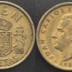Spania 100 PESETAS 1988