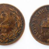 UNGARIA TRANSILVANIA 2 FILLER 1894 KB 1 **, Europa