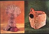 Ilustrate lot 2 buc obiecte de lut  ars cultura Turdas MNI Cluj