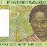 Bancnota 500 francs Madagascar UNC necirculata