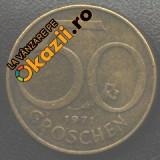 Austria 50 GROSCHEN 1971
