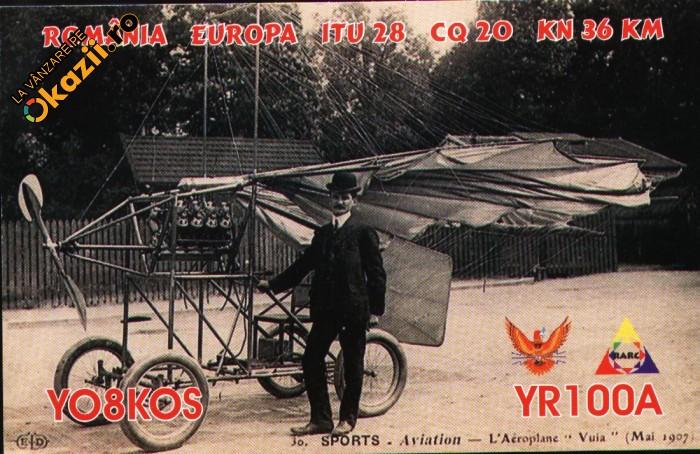QSL, Traian Vuia, avion Vuia 1
