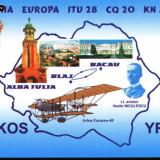 QSLzbor Bacau-Blaj pilot Vasile Niculescu, avion Farman 40