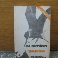 Al. Simion - Sansa - Roman, Anul publicarii: 1989