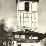 Bnk cp cimpulung-muscel - clopotnita bisericii - unc - Carti Postale Romania dupa 1918