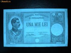 1000 lei 1934  -SUPERBA  -FOARTE RARA foto