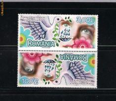 ROMANIA 2009 - ZIUA NONVIOLENTEI  TETE BECHE 2 - LP 1847d