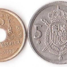 SPANIA 5+25 PESETAS