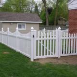 GARDUL AMERICAN , gard din PVC