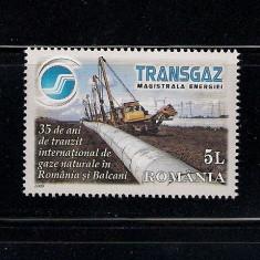ROMANIA 2009 TRANSGAZ LP 1848 - Timbre Romania