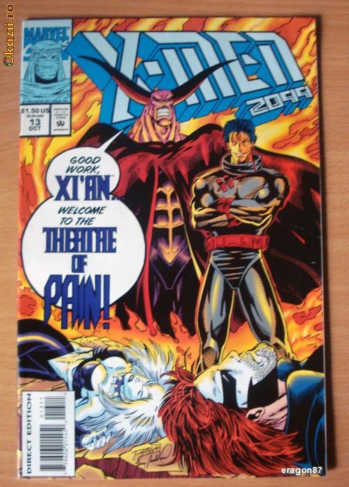 X-Men 2099 #13 . Marvel Comics foto mare
