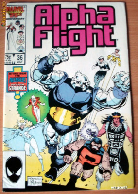 Alpha Flight #36 foto