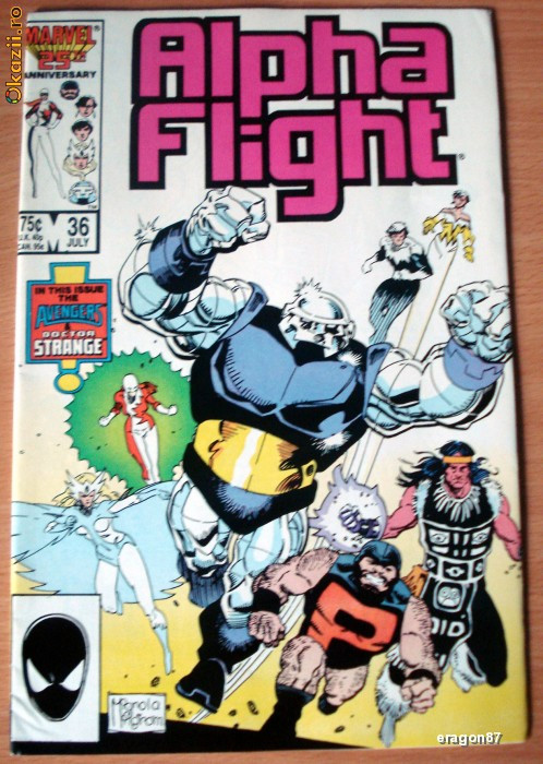 Alpha Flight #36 foto mare