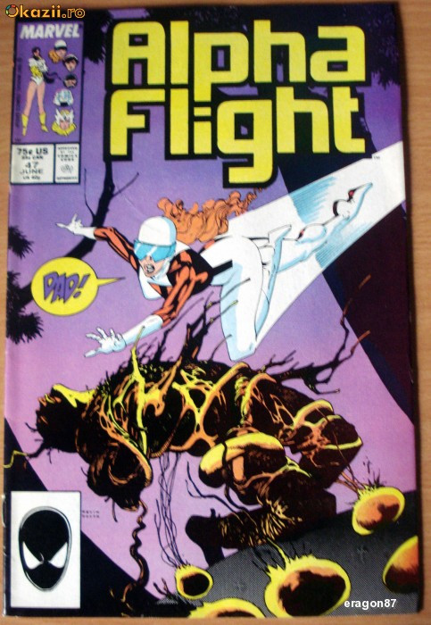 Alpha Flight #47. Marvel Comics foto mare