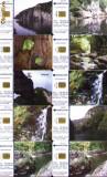 Set 10 cartele telefonice Romtelecom, peisaje montane, 1