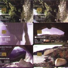 Set de 10 cartele telefonice Romtelecom, peisaje montane 2