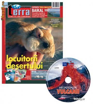 Reviste+CD Terra magazin foto