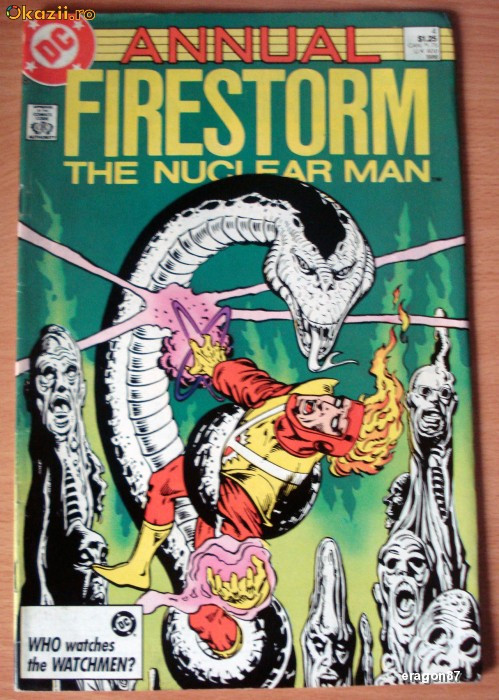 Firestorm . The Nuclear Man Annual 1986 DC Comics foto mare