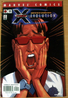 X-Men: Evolution #9 . Marvel Comics foto