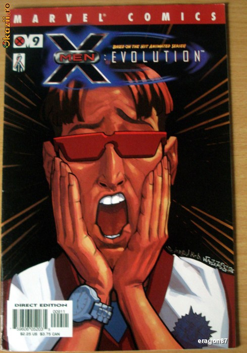 X-Men: Evolution #9 . Marvel Comics foto mare