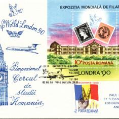 AA Aerofilatelie, Zbor TAROM Bucuresti-Londra