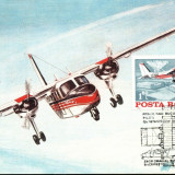 Maxima aerofilatelica avion BN-2