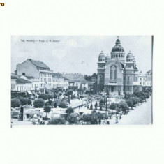 "CP163-41 Tg. Mures -Piata ,, I. V. Stalin"" -circulata 1959"
