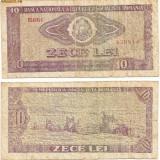 Bancnota 10 Lei - 1966 - Bancnota romaneasca