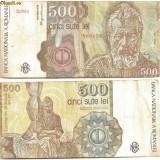 Bancnota 500 Lei - Aprilie 1991 - Bancnota romaneasca