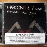 Maroon 5 - Friday the 13th (live) CD+DVD - Muzica Rock universal records