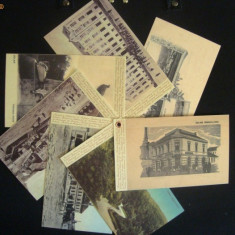 Superb set de carti postale-replici-Zalaul vechi, Zilah, Zalau