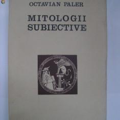 Octavian Paler - Mitologii subiective (1975)