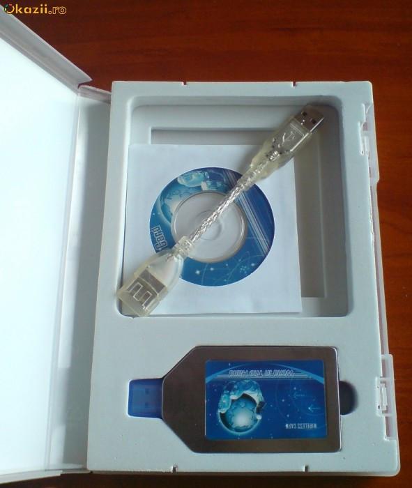 GPRS Modem USB SimCom 100 nou 115.2kbps retail foto mare