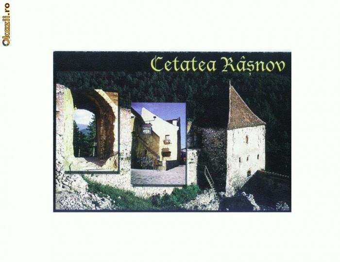 CP167-64 Cetatea taraneasca Rasnov, sec. XIV -necirculata