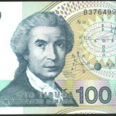 Republika Hrvatska - BANCNOTA 100.000 dinari 1993 UNC