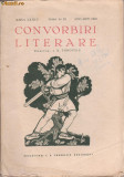 Revista CONVORBIRI LITERARE (nr.8-10/aug.-oct.1941)