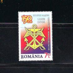 ROMANIA-2009 STATUL MAJOR GENERAL 150 ANI -LP 1849 - Timbre Romania