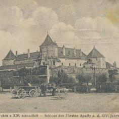 CFL 1919 Ilustrata Castel Fagaras cenzura rara