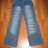 Blugi Pantalon DAMA NOU! - Blugi dama, Bleumarin, Marime: 27, Lungi