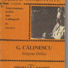 G calinescu - enigma otiliei, 1983