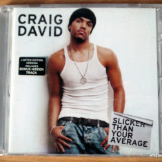 Craig David - Slicker Than Your Average - Muzica R&B sony music