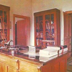 S-1199 Jud Prahova Muzeul Nicolae Iorga Biroul de lucru