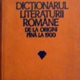 Dictionarul literaturii romane de la origini pina la 1900, Alta editura