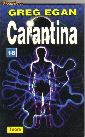greg egan - carantina ( sf )
