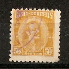 Timbre Cuba 1896 st.