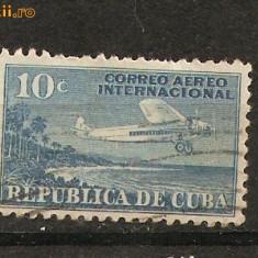 Timbre Cuba 1936 st.Posta Aeriana