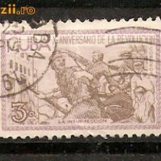 Timbre Cuba 1910 st. A X-a Aniversare de la revolutie